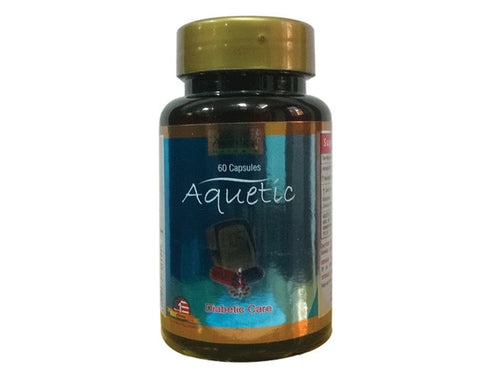 Aquetic capsules  60 cap - The Diabetic shop