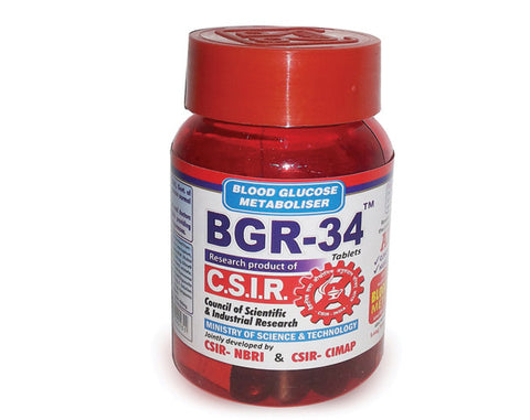 BGR-34 TABLETS - The Diabetic shop