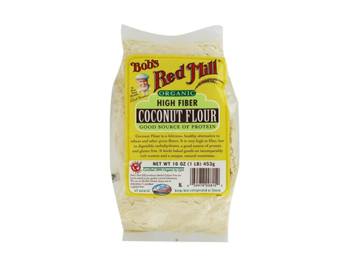 Organic High Fiber Coconut Flour 453gm - The Diabetic shop