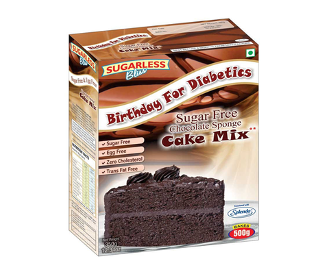 Sugarfree Chocolate Cake Mix - The Diabetic shop
