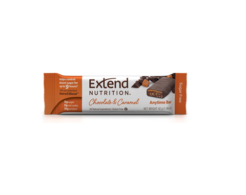 Extend Anytime Bars Chocolate & Caramel - The Diabetic shop