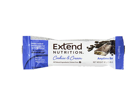 Extend Anytime Bars Cookies & Cream