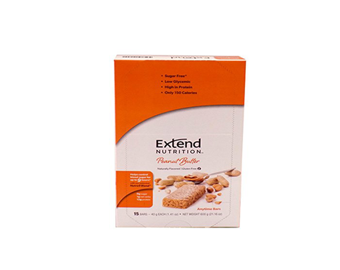 Extend Anytime Bars Cookies Peanut Butter (4 Pk Carton) - The Diabetic shop