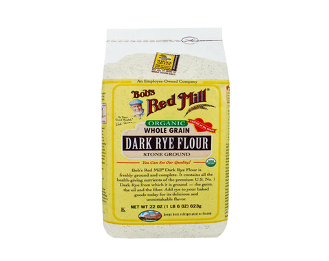 Organic Dark Rye Flour - The Diabetic shop