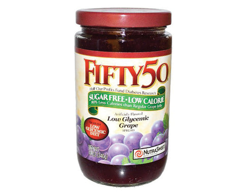 Fifty50 Spread/Jam grape - The Diabetic shop