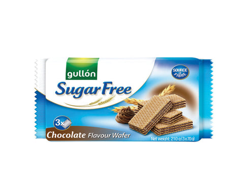 GULLON SUGAR FREE BISCUITS Chocolate Wafer - The Diabetic shop