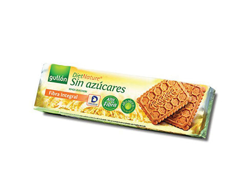 GULLON SUGAR FREE BISCUITS Fibre Interggal Biscuits - The Diabetic shop