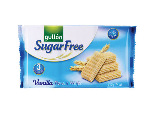 GULLON SUGAR FREE BISCUITS Vanilla Wafer - The Diabetic shop