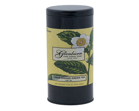 Glen Burn Lemon-Ginger Green Tea Tin - The Diabetic shop