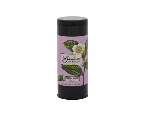 Glenburn Lavender Green Tea Tin