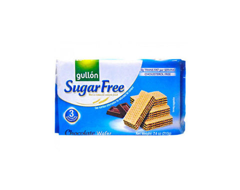 Gullon Choco Sugar Free Wafer 210g - The Diabetic shop