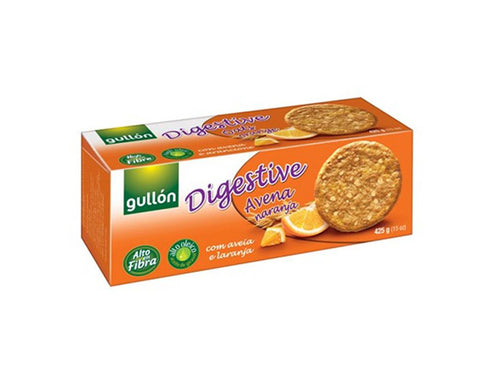 Gullon Digestive Oats & Orange 425 - The Diabetic shop