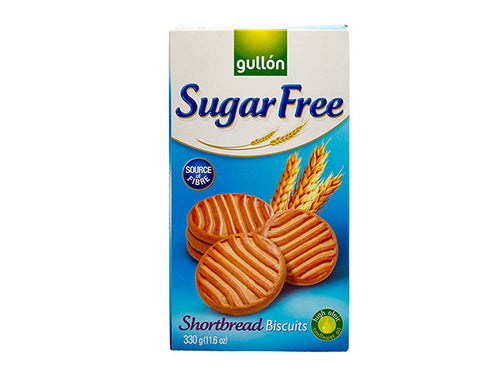 Gullon Sugar Free Short Bread Biscuits - The Diabetic shop