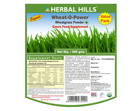 Herbal Hills Wheat-O-Power - The Diabetic shop