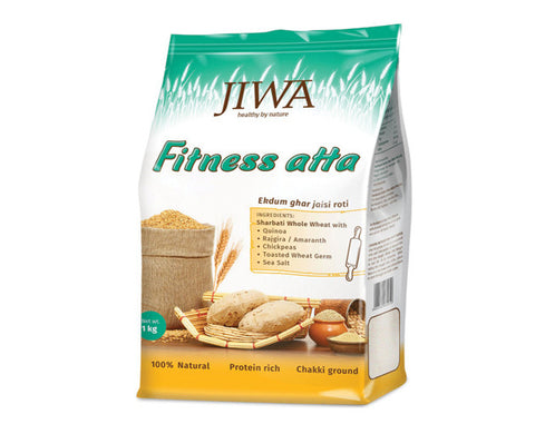 Jiwa Atta - Fitness 1 kg - The Diabetic shop