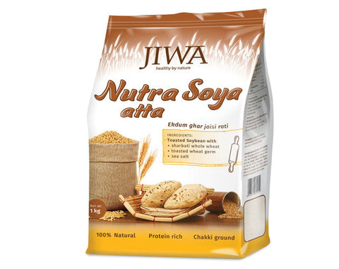 Jiwa Atta - Nutra Soya 1 kg - The Diabetic shop