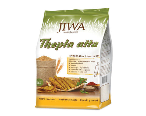 Jiwa Atta - Nutra Thepla 1 kg - The Diabetic shop