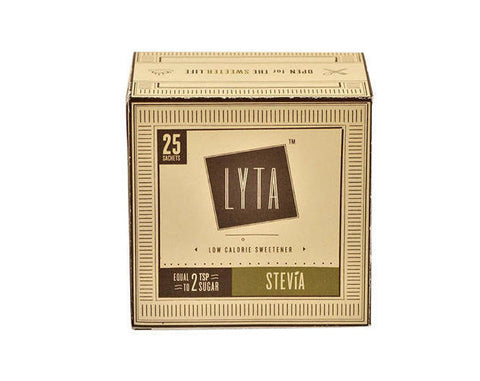 LYTA Stevia 25 Sachet Pack - The Diabetic shop