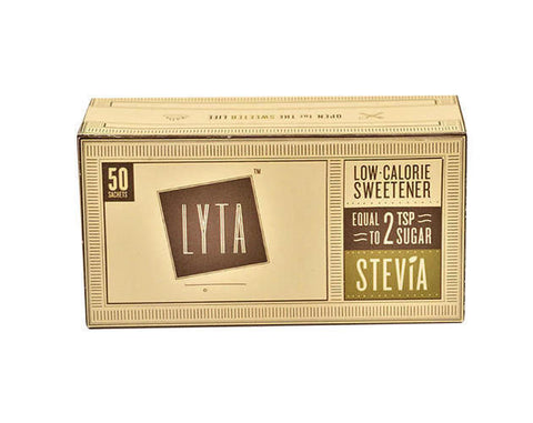 LYTA Stevia 50 Sachet Pack - The Diabetic shop
