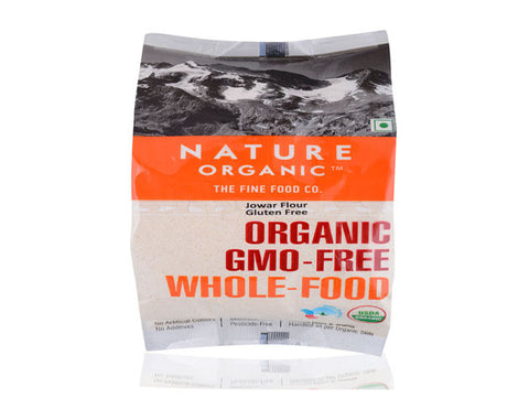 Nature organic Jowar/Sorghum Flour - The Diabetic shop