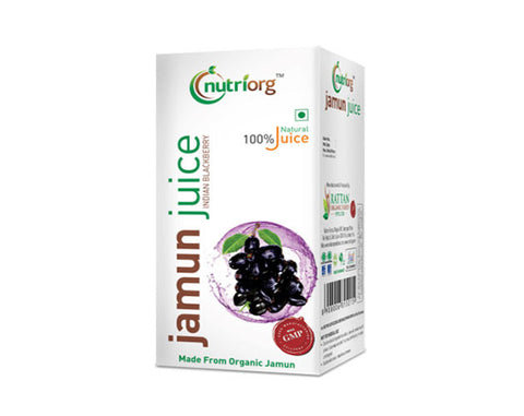 Nutriorg Jamun Juice 500ml - The Diabetic shop
