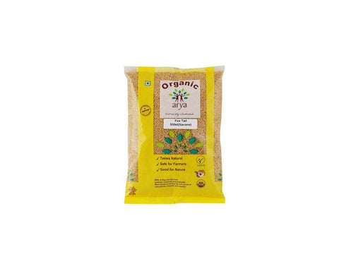 Oragnic Foxtail Millet 500 Gms - The Diabetic shop