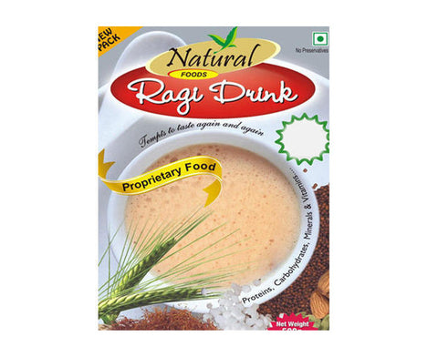 Natural Ragi Drink,500g - The Diabetic shop