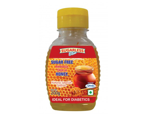 Sugarless Saffron Honey