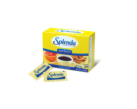 Splenda Sugar Sachets 100 Sachets - The Diabetic shop