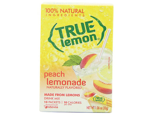 True Lemon peach lemonade