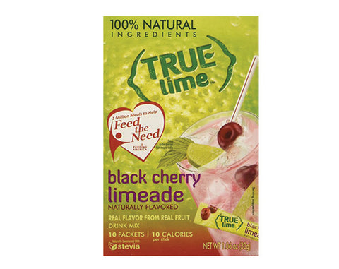 True Lime black cherry Limeade
