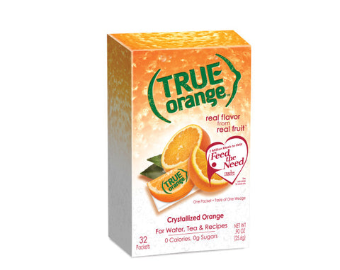 True orange packet