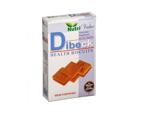 NutriValue Dibeck  Diabetic biscuit - The Diabetic shop
