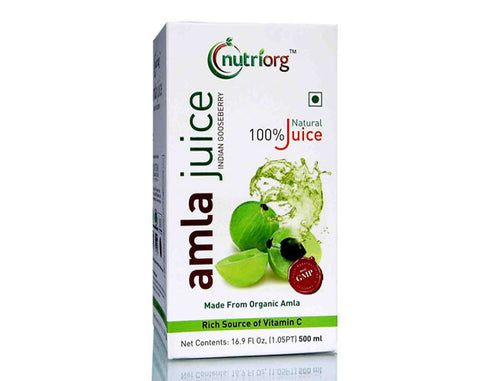 Nutriorg Amla Juice 500ml - The Diabetic shop