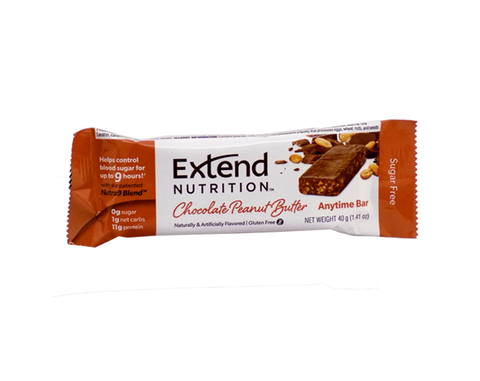 Extend Anytime Bars Chocolate Peanut Butter - The Diabetic shop