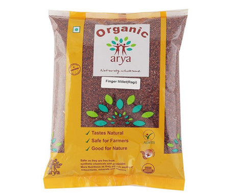 Organic Finger Millet 500 Gms - The Diabetic shop