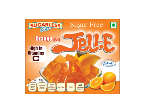 Sugarfree Orange Jell-E - The Diabetic shop
