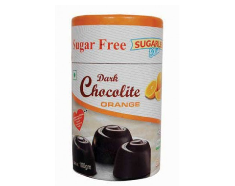 Sugarless Orange Chocolates