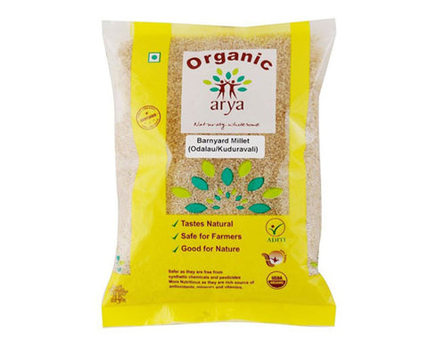 Organic Banyard Millet 500 Gms - The Diabetic shop