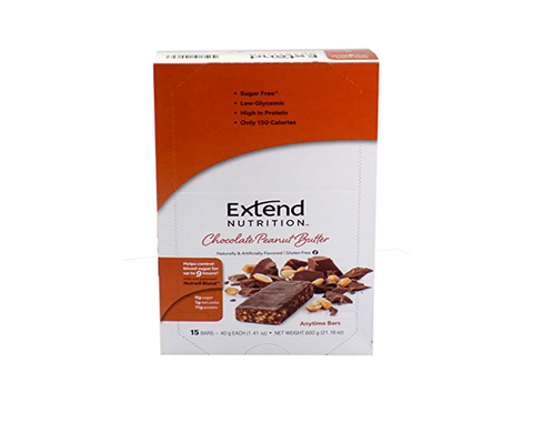 Extend Anytime Bars Chocolate Peanut Butter (4 Pk Carton)