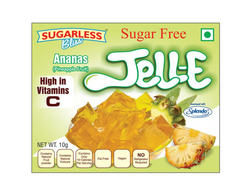 Sugarfree Pineapple Jell-E - The Diabetic shop