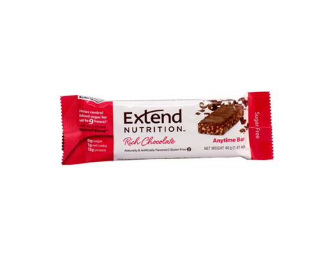 Extend Anytime Bars Rich Chocolate - The Diabetic shop