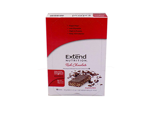 Extend Anytime Bars Cookies Rich Chocolate (4 Pk Carton)