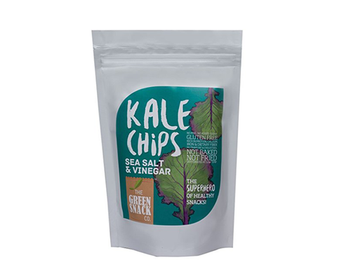 Kale Chips Sea Salt & Vinegar 18*30gm - The Diabetic shop