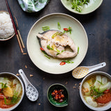 Vietnamese sweet and sour fish soup