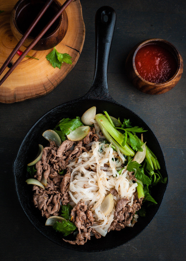 Stir-fry Pho Noodle with Beef – Rice Kitchen
