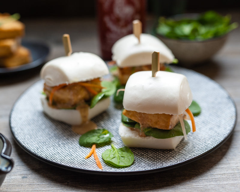 Tofu Mantou Bun with Sesame Sauce