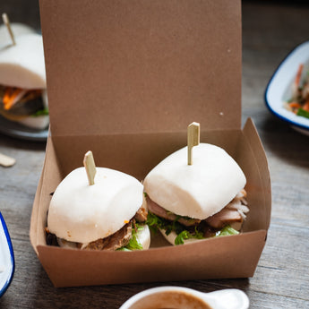 Grilled Chicken Bao buns