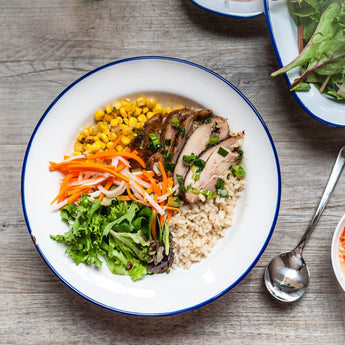 Grilled Chicken Rice Bowl (GF)