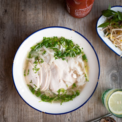 Poached Chicken Pho